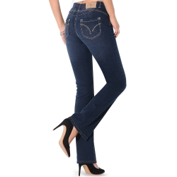 Jean bootcut effet push-up