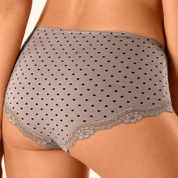 Shorty fantaisie dentelle - lot de 3