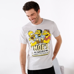 Tee-shirt manches courtes The Simpsons™ Moe's tavern