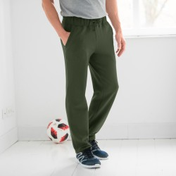 Pantalon jogging molleton bas droits
