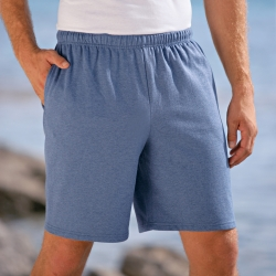 Short molleton homme