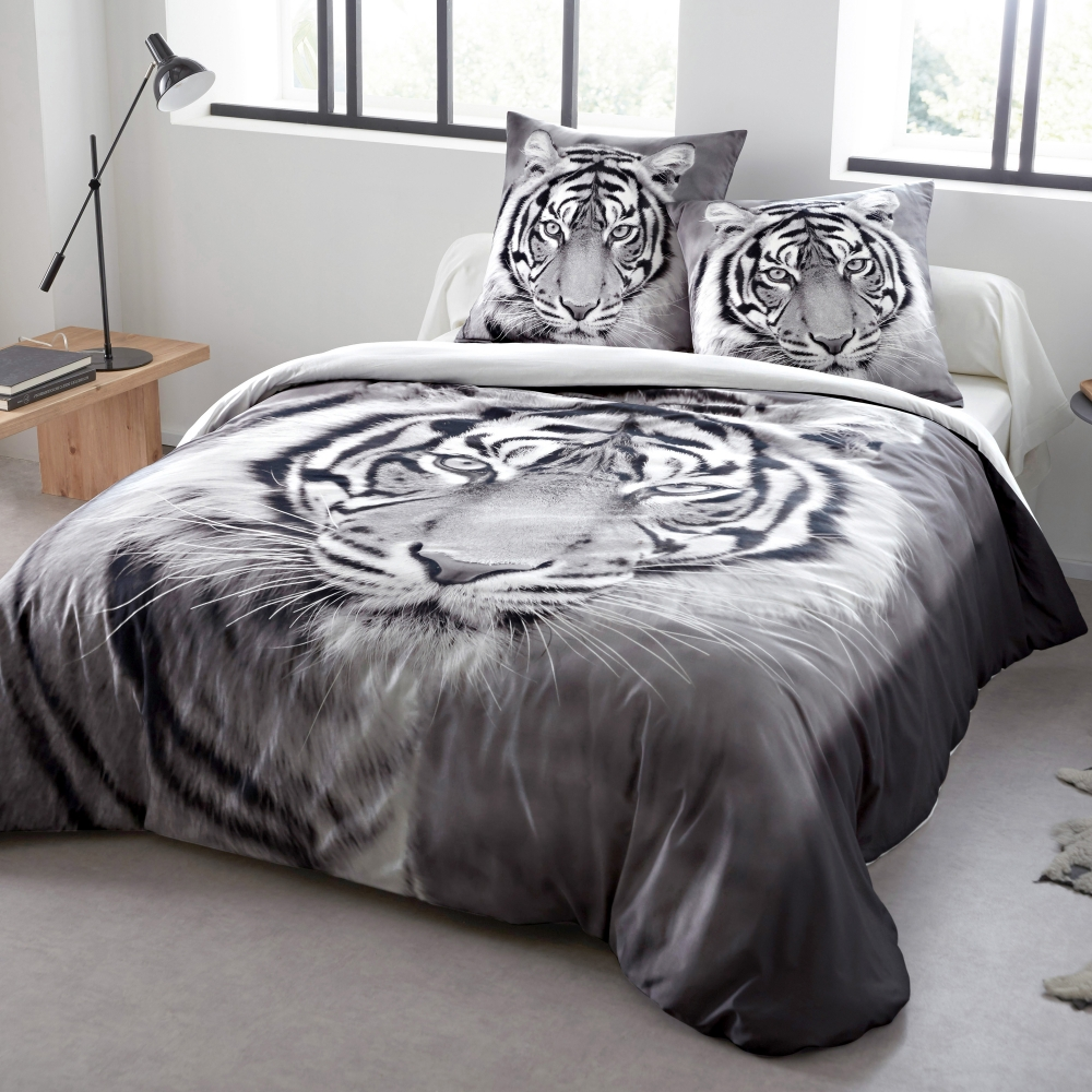linge de lit tiger 100 coton blancheporte. Black Bedroom Furniture Sets. Home Design Ideas