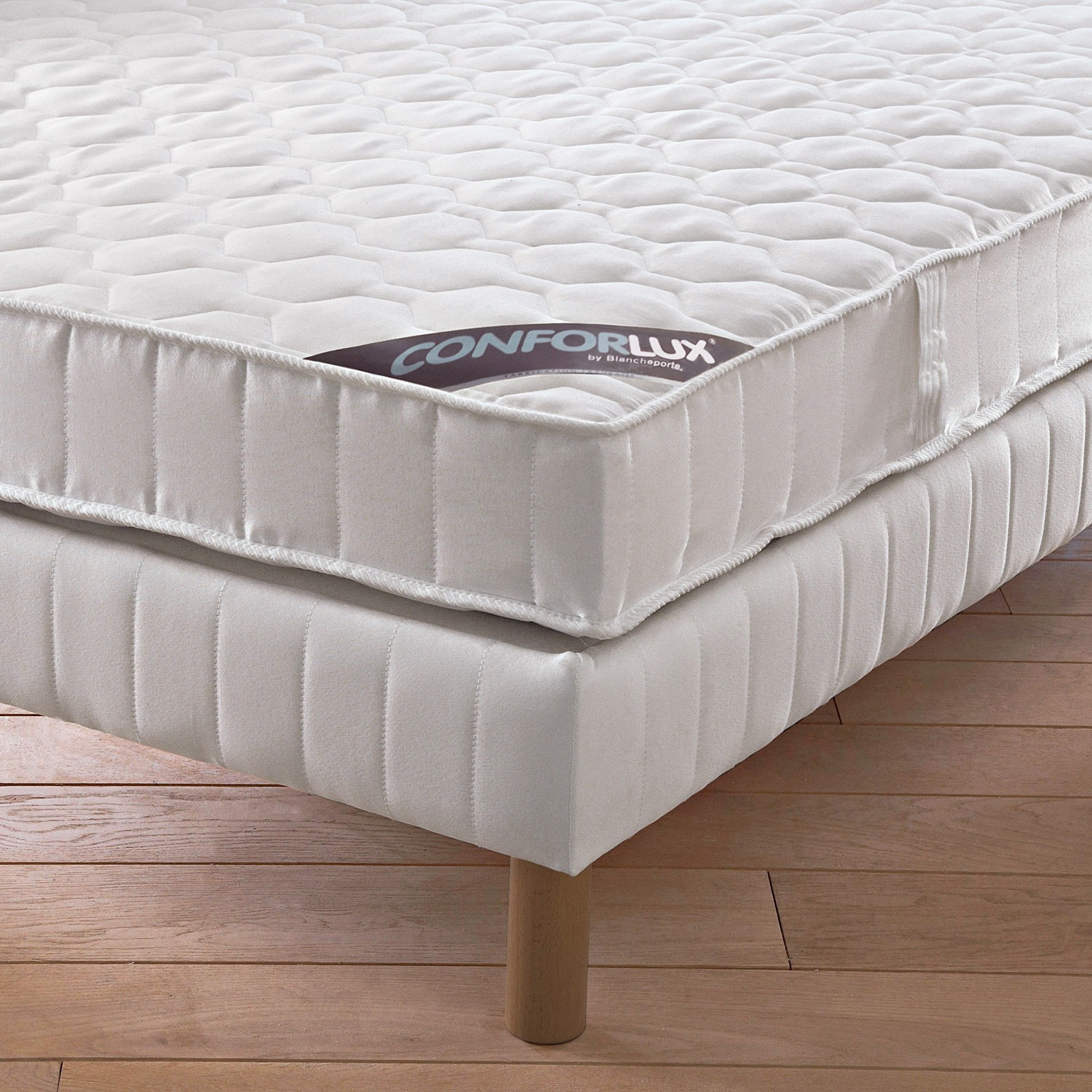 sommier tapissier sp cial matelas latex blancheporte. Black Bedroom Furniture Sets. Home Design Ideas