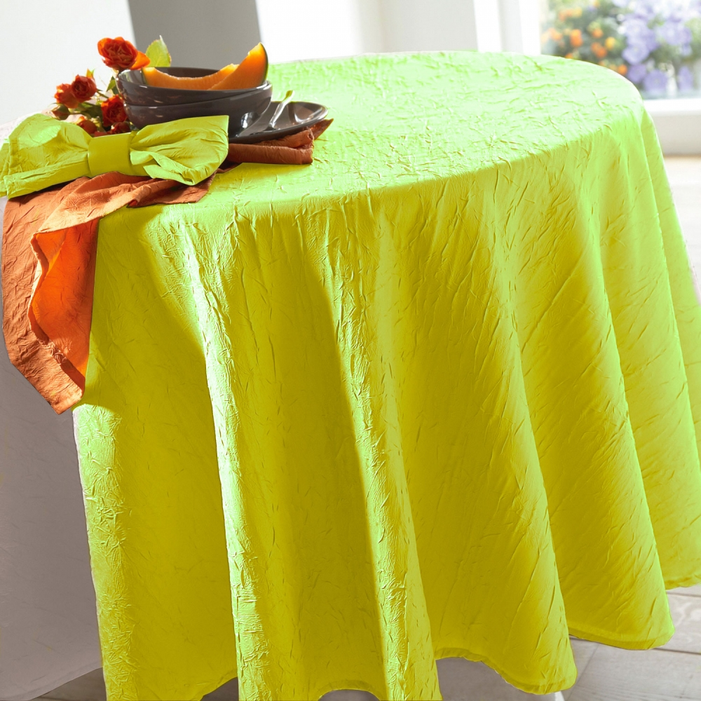 Nappe froiss permanent blancheporte - Nappe de table rectangulaire grande taille ...