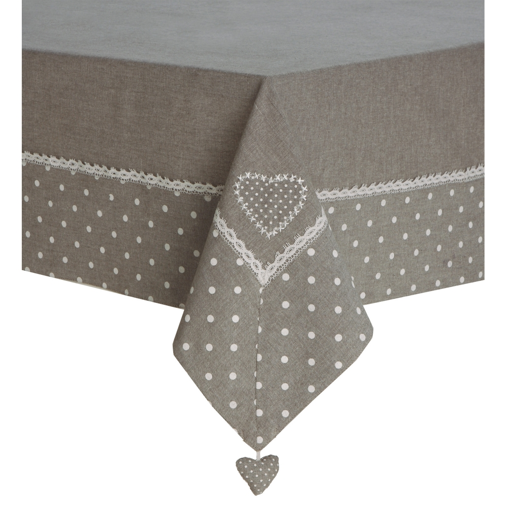 Nappe et chemin de table blancheporte for Nappe et serviettes de table