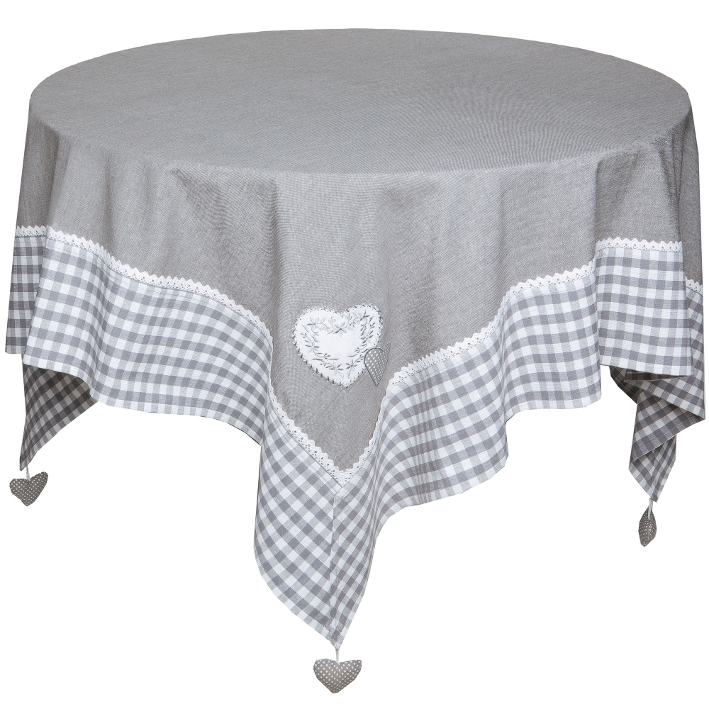 Nappe rectangulaire brod e lorine blancheporte for Nappe de table rectangulaire