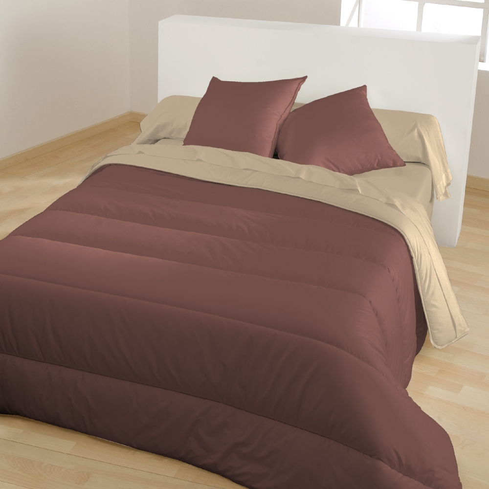 couette microfibre bicolore 400g m blancheporte. Black Bedroom Furniture Sets. Home Design Ideas