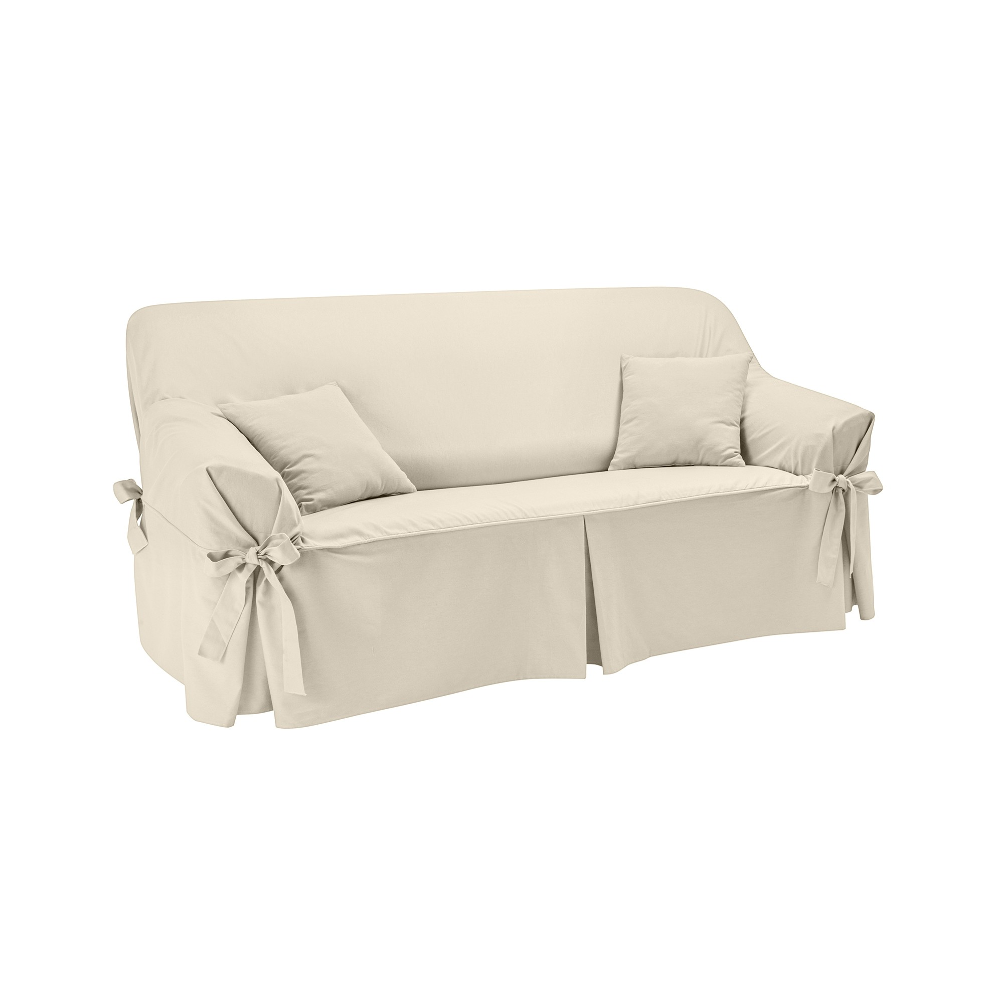 Housse canap nouettes pr form e bachette blancheporte for Housse de canape 4 places