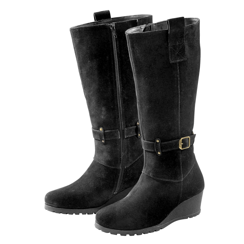 bottes boots chaussures femme blancheporte. Black Bedroom Furniture Sets. Home Design Ideas