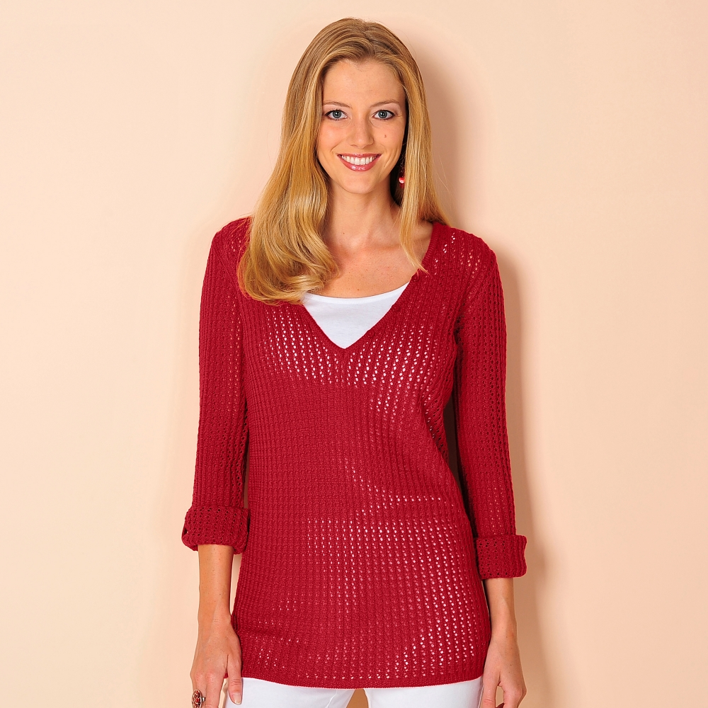 pull maille ajour 233 e blancheporte