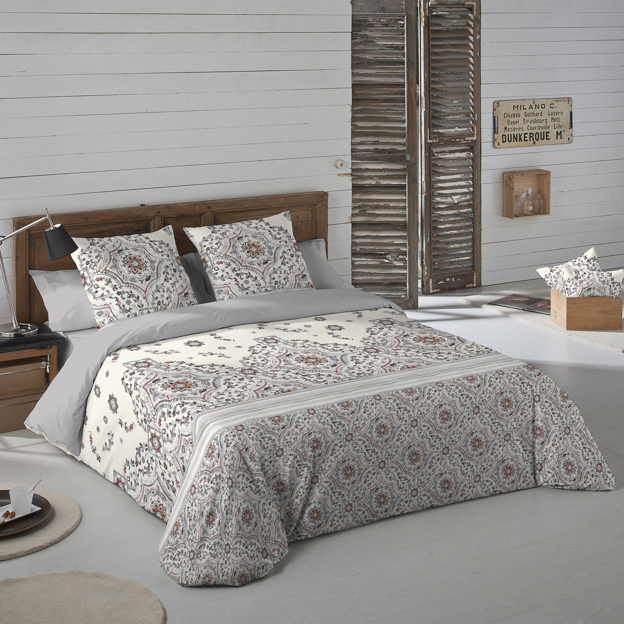 linge de lit gardenia flanelle blancheporte. Black Bedroom Furniture Sets. Home Design Ideas