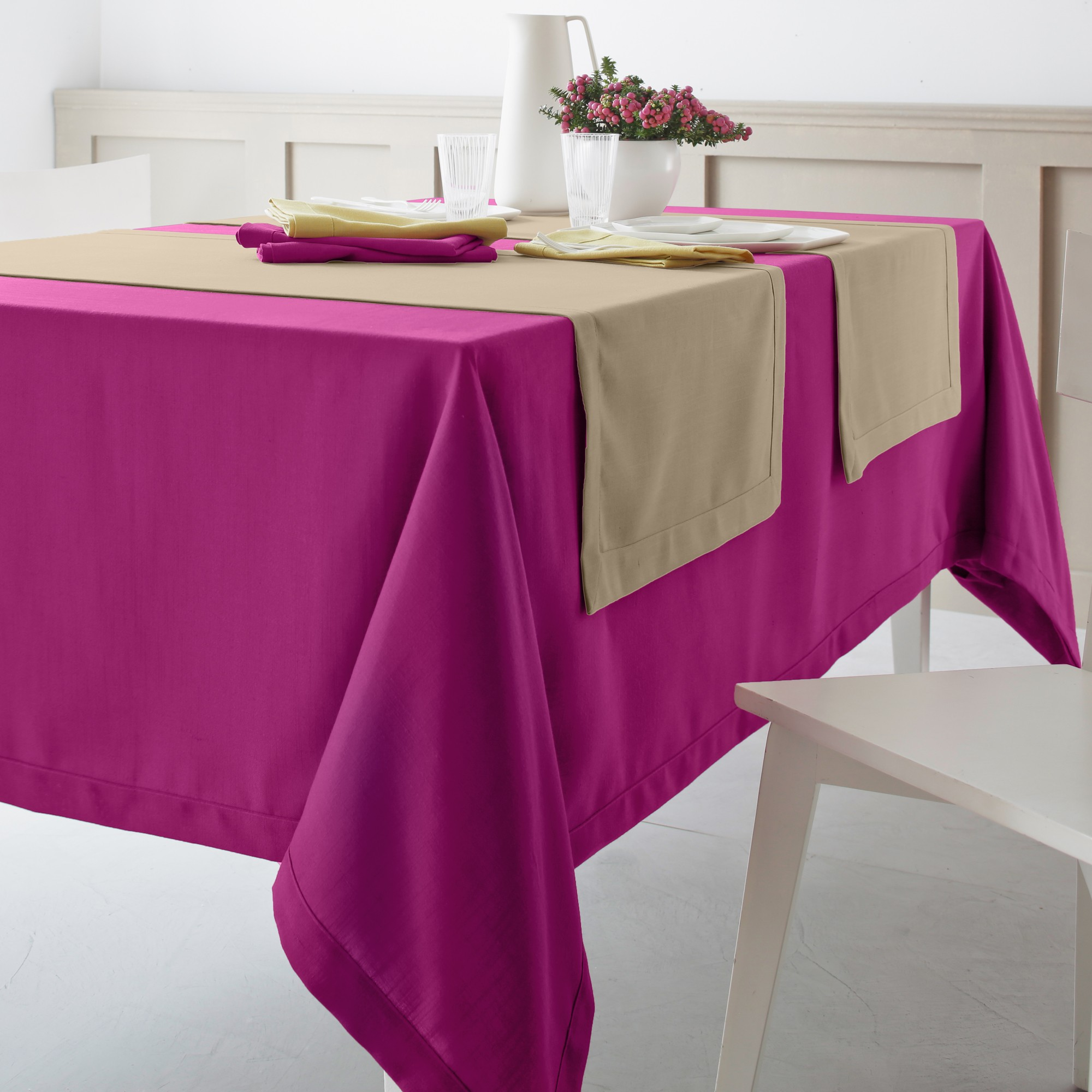 Nappe De Table Rectangulaire Grande Taille Conceptions De Maison