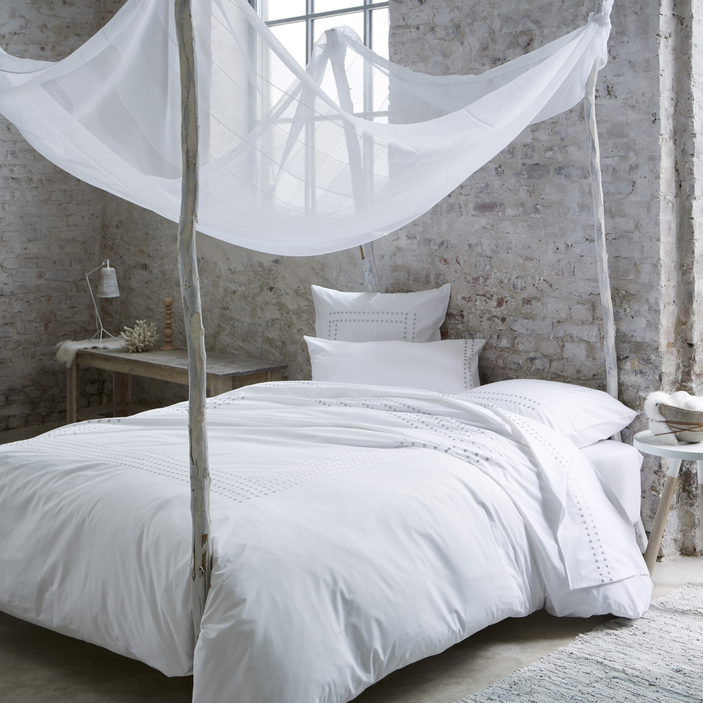 linge de lit venezia en percale de coton 80 fils cm2 blancheporte. Black Bedroom Furniture Sets. Home Design Ideas