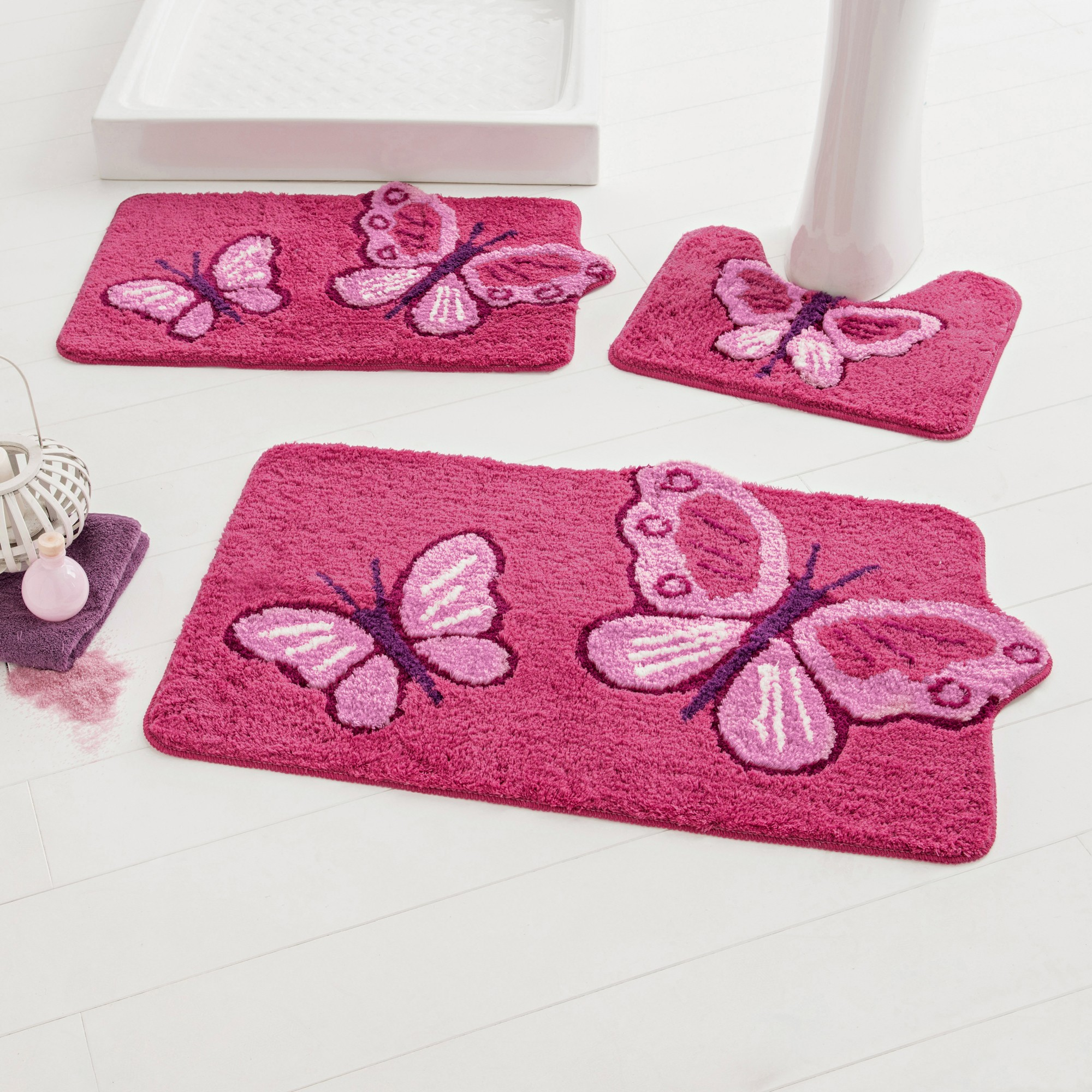 Tapis Bain Rond Fashion Designs