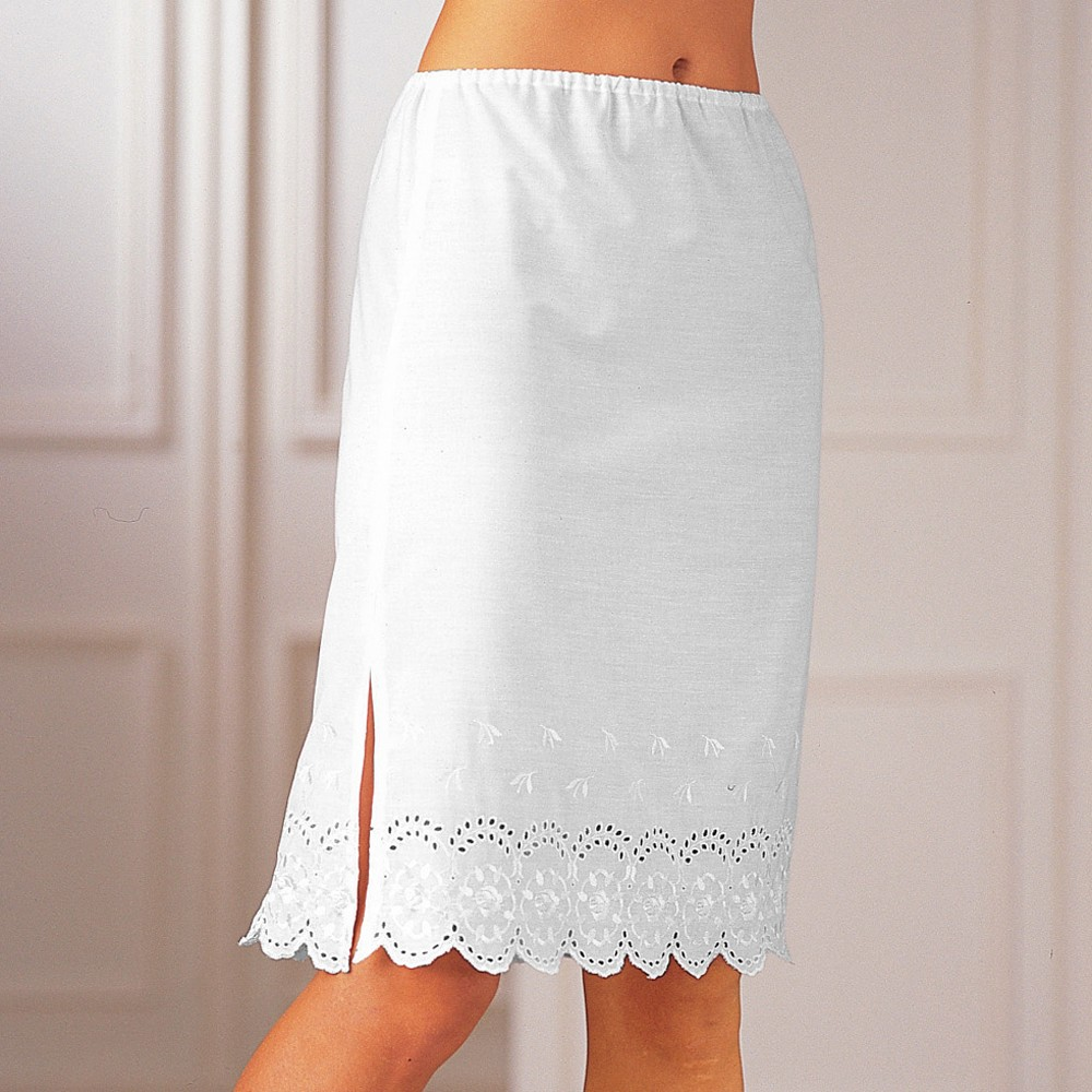 Jupon base broderie anglaise blancheporte - Www blancheporte fr points relais ...