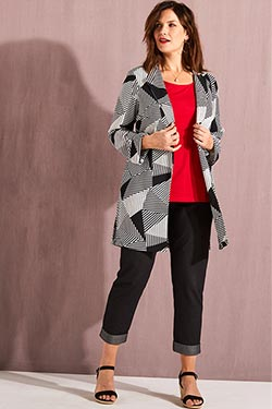 Look Isabella graphique chic
