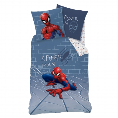 Parure de lit Spiderman Incredible coton