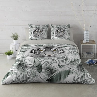 Linge de lit Tiger Jungle - coton
