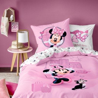 Parure de lit Minnie Downtown® - coton