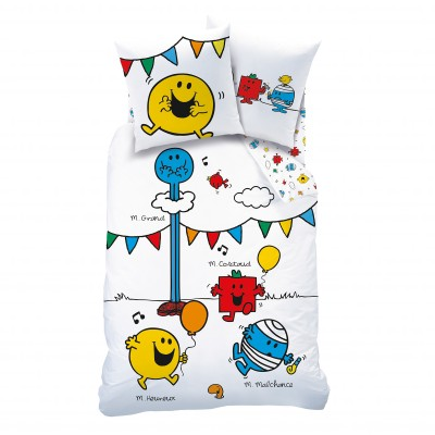 Parure Monsieur Madame® Happy Time - coton