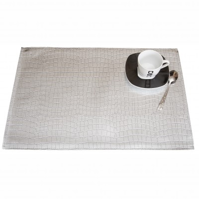 Set de table effet croco - lot de 3