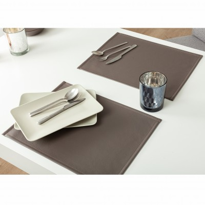 Set de table aspect cuir - lot de 4