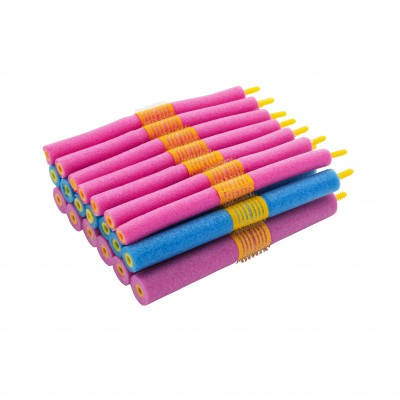 Bigoudis flexibles - lot de 20