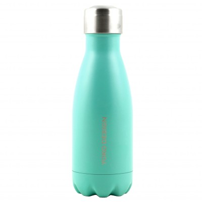 Bouteille isotherme inox 260 ml turquoise mat