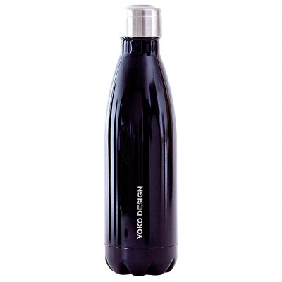 Bouteille isotherme inox 500 ml noir