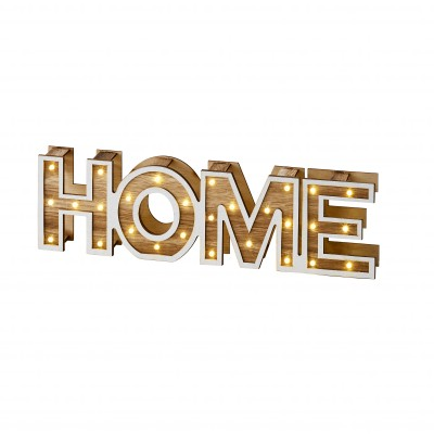 "Lettres lumineuses ""HOME"""