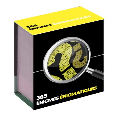 Calendrier 365 jours - Enigme