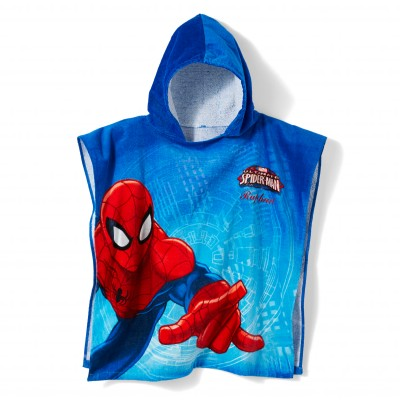 Cape de bain enfant personnalisable Spiderman Ultimate®