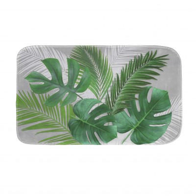 Tapis de bain imprimé Jungle