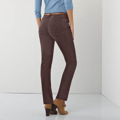 Pantalon droit velours : Vue catalogue