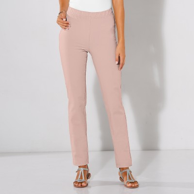 Pantalon bi-stretch ventre plat