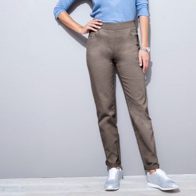 "Pantalon coupe ""boyfriend"" ultra confort"