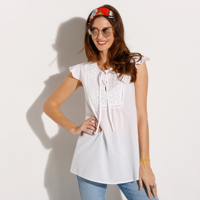 Tunique broderie anglaise