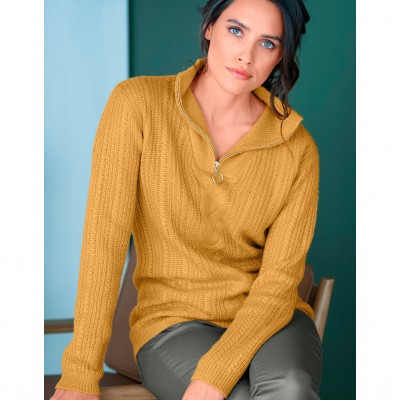 Pull camionneur manches longues