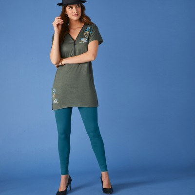 Legging maille jersey