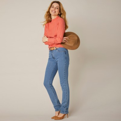 Jean coupe droite stretch - moyenne stature