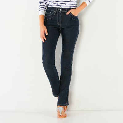 Jean amincissant denim extensible, entrej. 81 cm