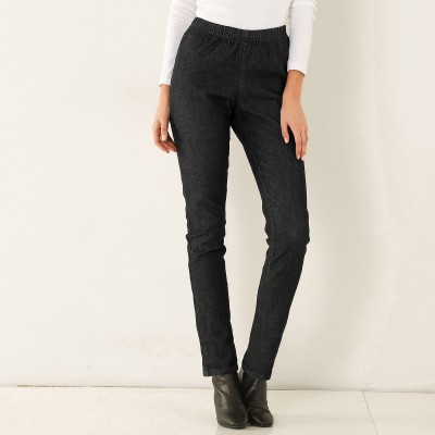 Caleçon denim stretch - entrej. 76 cm