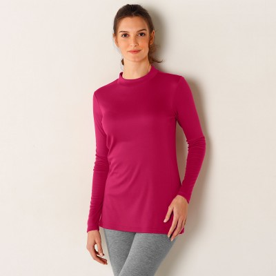 Tee-shirt thermique col montant - manches longues