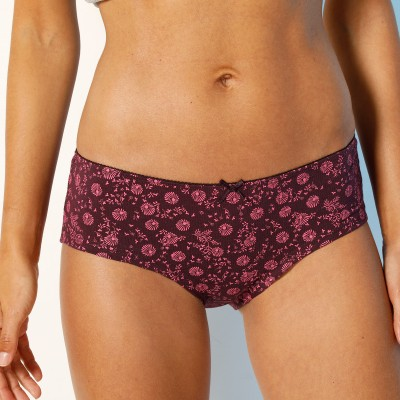 Shorty imprimé «flocons» en coton – Lot de 4 assortis