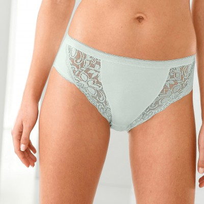 Culotte midi dentelle - lot de 3