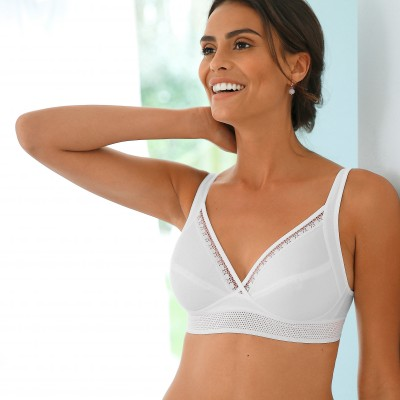 Soutien-gorge coton Feel Good Support Cotton - sans armatures