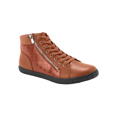 Derbies perforés en cuir