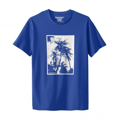 Tee-shirt manches courtes palmiers