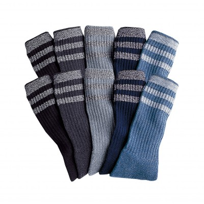 Mi-chaussettes tennis - lot de 10 paires : Vue catalogue