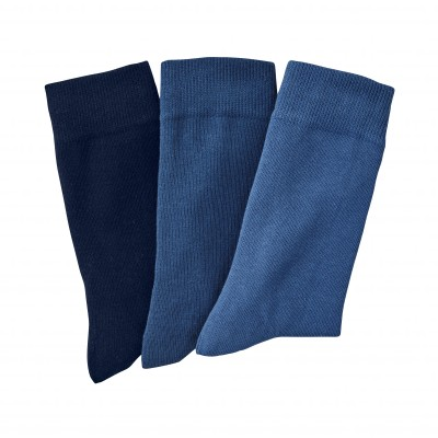 Mi-chaussettes assorties - lot de 3 paires